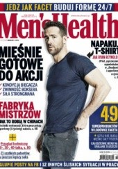 Okładka książki Mens Health 03/2016 Redakcja magazynu Men's Health