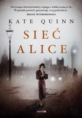 Okładka książki Sieć Alice Kate Quinn
