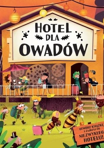 Okładka książki Hotel dla owadów Petra Bartíková,Helena Harastova,Marketa Novakova