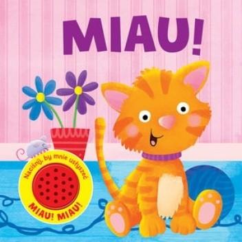 Okładka książki MIAU! Angelika Scudamore