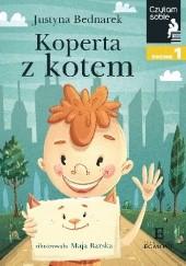 Okładka książki Koperta z kotem Justyna Bednarek,Maja Barska