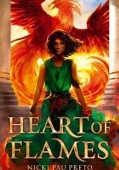 Okładka książki Heart of Flames