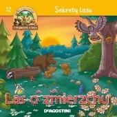Okładka książki Las o zmierzchu. Sekrety lasu