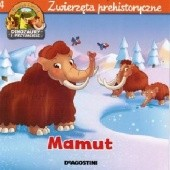 Okładka książki Mamut. Zwierzęta prehistoryczne