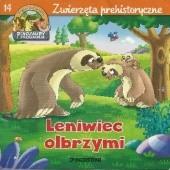 Okładka książki Leniwiec olbrzymi. Zwierzęta prehistoryczne