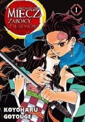 Okładka książki Miecz zabójcy demonów - Kimetsu no Yaiba tom 1 Koyoharu Gotouge