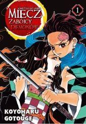 Okładka książki Miecz zabójcy demonów - Kimetsu no Yaiba #1 Koyoharu Gotouge