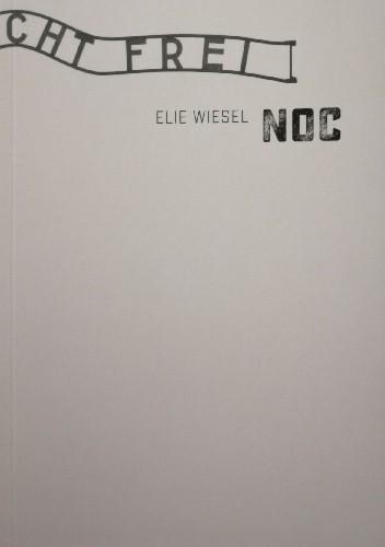 Okładka książki Noc Elie Wiesel