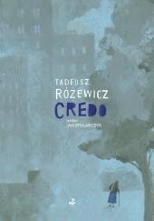 Okładka książki Credo Tadeusz Różewicz