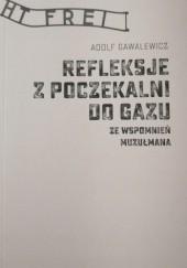 Okładka książki Refleksje z poczekalni do gazu. Ze wspomnień muzułmana