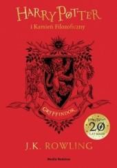Okładka książki Harry Potter i Kamień Filozoficzny. Gryffindor J.K. Rowling