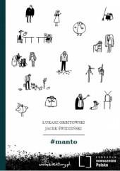 Okładka książki #manto Łukasz Orbitowski
