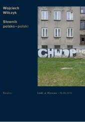 Okładka książki Słownik polsko-polski
