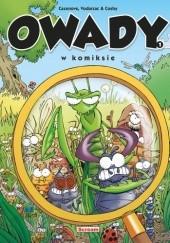 Okładka książki Owady w komiksie - 1 Christophe Cazenove
