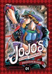 Okładka książki JoJos Bizarre Adventure: Part 1 - Phantom Blood, tom 1 Hirohiko Araki