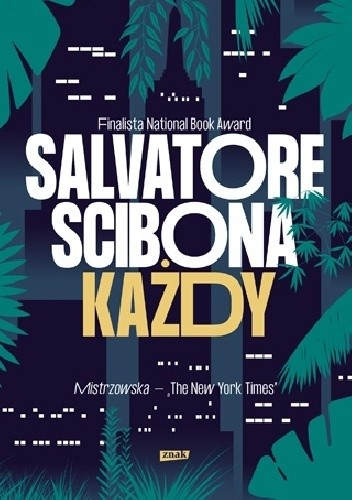 Okładka książki Każdy Salvatore Scibona
