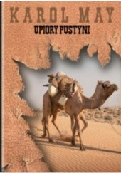 Okładka książki Upiory pustyni Karol May