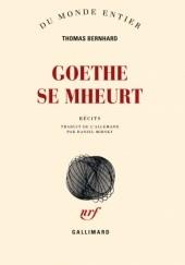 Okładka książki Goethe se mheurt