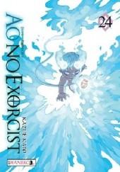 Okładka książki Ao No Exorcist 24 Kato Kazue