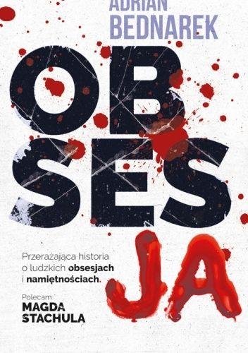 Okładka książki Obsesja Adrian Bednarek