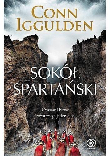 Okładka książki Sokół spartański Conn Iggulden