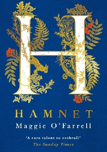 Okładka książki Hamnet Maggie O'Farrell