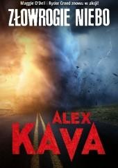 Okładka książki Złowrogie niebo Alex Kava