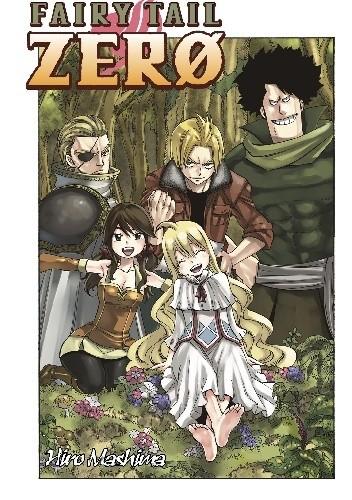 Okładka książki Fairy Tail Zero Hiro Mashima