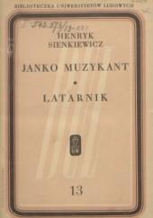 Okładka książki Janko muzykant. Latarnik Henryk Sienkiewicz