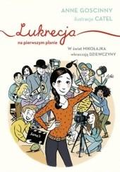 Okładka książki Lukrecja na pierwszym planie