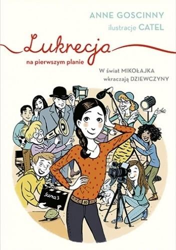 Okładka książki Lukrecja na pierwszym planie Anne Goscinny