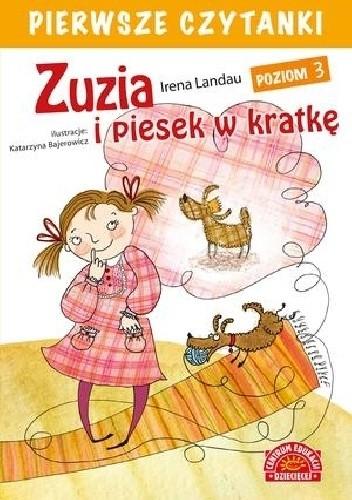 Okładka książki Zuzia i piesek w kratkę Irena Landau