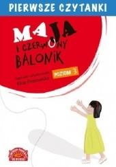 Okładka książki Maja i czerwony balonik