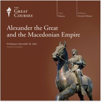 Okładka książki Alexander the Great and the Macedonian Empire Kenneth W. Harl