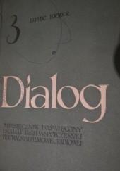 Okładka książki Dialog, nr 3 / 1956 Adam Tarn