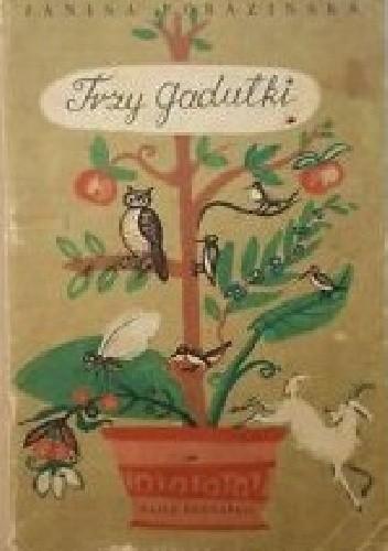 Okładka książki Trzy gadułki Janina Porazińska
