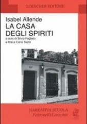 Okładka książki La casa degli spiriti Isabel Allende