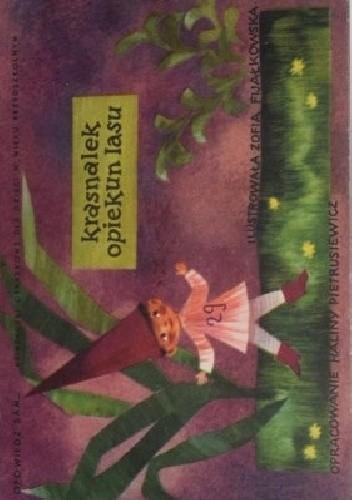 Okładka książki Krasnalek opiekun lasu Halina Pietrusiewicz