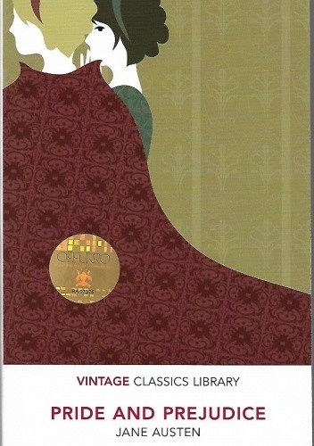Okładka książki Pride and Prejudice Jane Austen