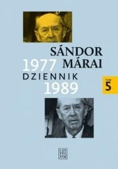 Okładka książki Dziennik 1977-1989 Sándor Márai