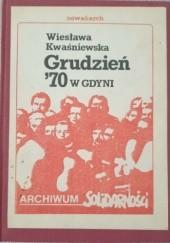 Okładka książki Grudzień '70 w Gdyni