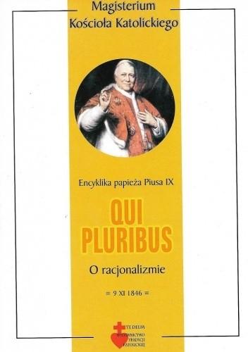 Okładka książki Qui pluribus. O racjonalizmie Pius IX
