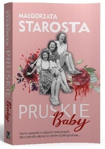 Okładka książki Pruskie baby Małgorzata Starosta