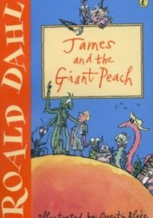 Okładka książki James and the Giant Peach