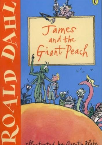 Okładka książki James and the Giant Peach Roald Dahl