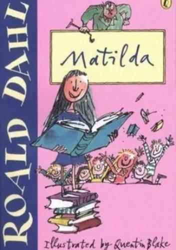 Okładka książki Matilda Roald Dahl