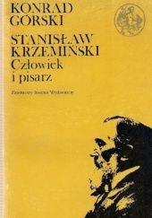 Okładka książki Stanisław Krzemiński: Człowiek i pisarz Konrad Górski