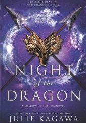 Okładka książki Night of the Dragon Julie Kagawa