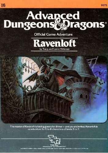 Okładka książki Ravenloft (I6) Laura Hickman,Tracy Hickman