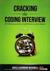 Okładka książki Cracking the Coding Interview: 189 Programming Questions and Solutions Gayle Laakmann McDowell